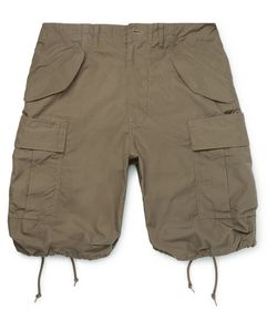 Beams Plus | Oliver Slim-Fit Cotton-Ripstop Cargo Shorts