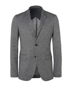 Solid Homme | Linen-Blend Hopsack Suit Jacket
