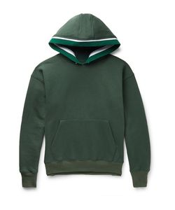 Noon Goons | Outfield Fleece-Back Cotton-Jersey Hoodie