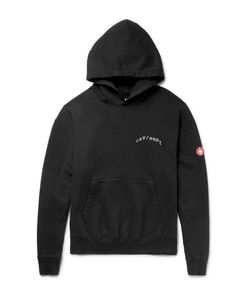 CAV EMPT | Printed Loopback Cotton-Jersey Hoodie
