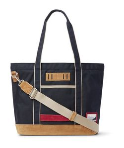 Master-Piece | Suede-Trimmed Nylon Tote Bag