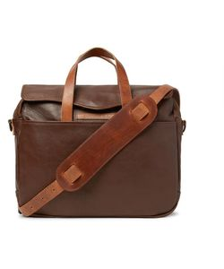 RRL | A-2 Leather Briefcase