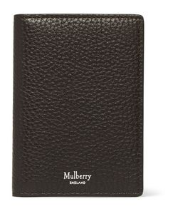 Mulberry | Full-Grain Leather Billfold Cardholder