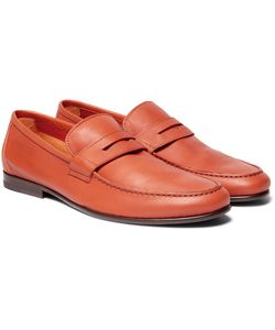 Harrys Of London | James Leather Penny Loafers