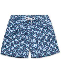 FRESCOBOL CARIOCA   Jardim Botanico Short-Length Printed Swim Shorts