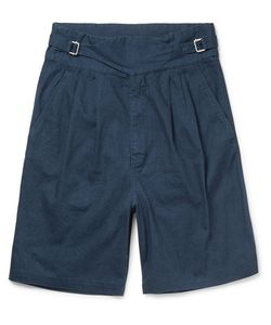 Eidos | Ghurka Wide-Leg Cotton Shorts