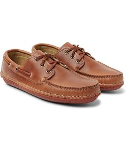 Quoddy | Boat Moc Ii Leather Boat Shoes