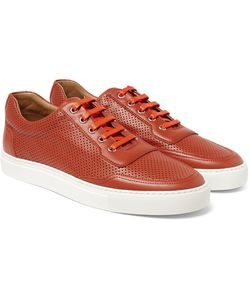 Harrys Of London | Mr Jones 2 Perforated Leather Sneakers