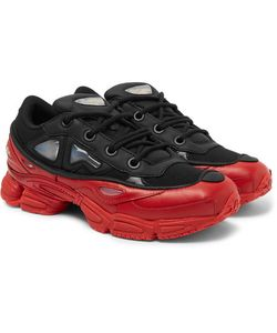 Raf Simons | Adidas Ozweego Iii Leather And Mesh Sneakers