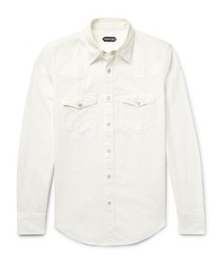 Tom Ford | Slim-Fit Denim Western Shirt