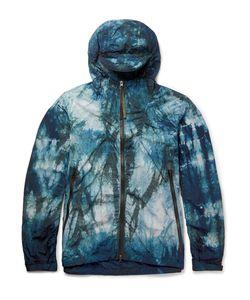 NEMEN   Printed Shell Hooded Windbreaker Jacket