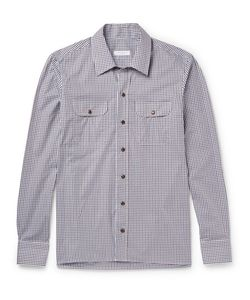 Boglioli | Checked Cotton-Poplin Shirt