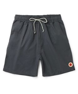 MOLLUSK | Vacation Mid-Length Cotton-Blend Swim Shorts