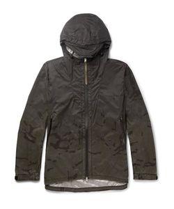NEMEN   Slim-Fit Camouflage-Print Ripstop-Shell Windbreaker Jacket