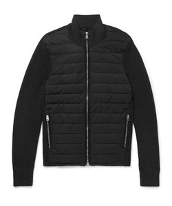 Tom Ford | Slim-Fit Ribbed Merino Wool And Quilted Shell Down