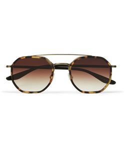 BARTON PERREIRA   Themis Aviator-Style Tortoiseshell Acetate Sunglasses