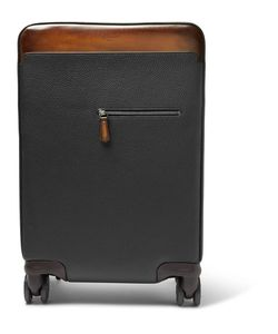 BERLUTI   Formula 1004 Full-Grain Leather Trolley Case