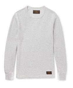Neighborhood | Waffle-Knit Cotton T-Shirt