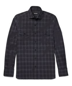 Tom Ford | Checked Cotton Shirt