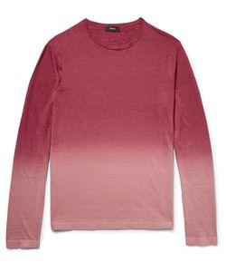 Theory | Preston Dégradé Slub Linen-Blend Sweater