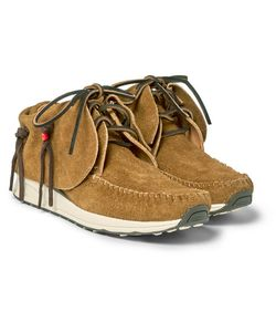 Visvim | Fbt Fringed Suede Sneakers