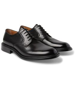 O'Keeffe | Felix Polished-Leather Derby Shoes