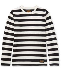 Neighborhood | Striped Knitted Cotton T-Shirt