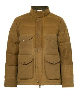 Filson | Cruiser Quilted Water-Repellent Cotton-Canvas Down Jacket