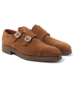 GEORGE CLEVERLEY | Thomas Suede Monk-Strap Shoes