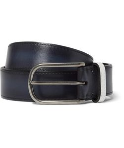 BERLUTI   3.5cm Polished-Leather Belt
