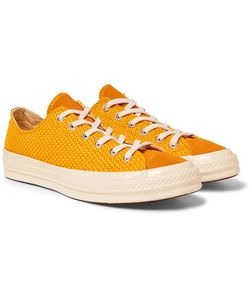 Converse | 1970s Chuck Taylor All Star Suede-Trimmed Woven Sneakers