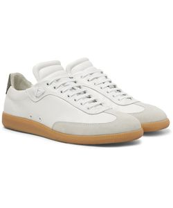 PUBLIC SCHOOL | Otto Nubuck And Suede-Trimmed Leather Sneakers