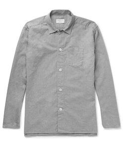 Oliver Spencer Loungewear | Brushed-Cotton Pyjama Shirt