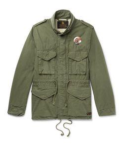 Neighborhood | Printed Brushed-Cotton Ripstop Field Jacket