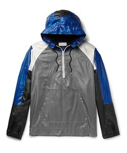 John Elliott | Colour-Block Shell Half-Zip Hooded Jacket