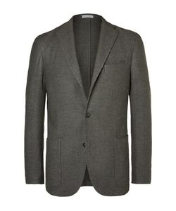 Boglioli | Slim-Fit Wool Cotton And Cashmere-Blend Blazer