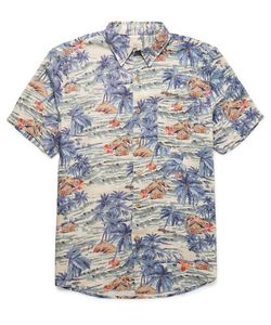 Faherty | Printed Voile Shirt