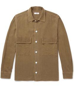 CMMN SWDN | Egon Brushed-Silk Shirt