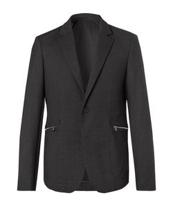 Wooyoungmi | Dark Stretch-Wool Blazer