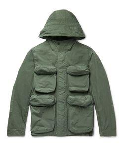 NEMEN   Slim-Fit Shell Hooded Field Jacket