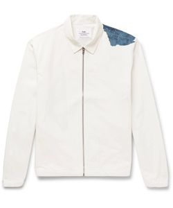 Folk | Goss Brothers Watercolour Printed Cotton-Twill Jacket