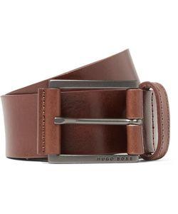 HUGO BOSS | 4cm Sian Leather Belt