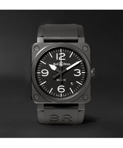 Bell & Ross | Br03-92 42mm Ceramic And Rubber Watch