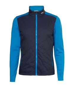 Kjus Golf | Retention Quilted Shell And Jersey Golf Jacket