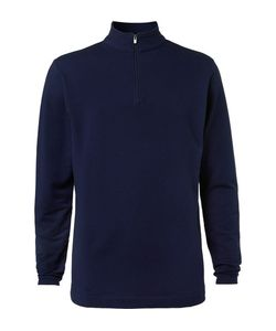 DUNHILL LINKS | Baker Street Stretch Cotton And Modal-Blend Half-Zip Sweater
