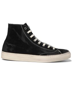 NONNATIVE | Student Suede High-Top Sneakers