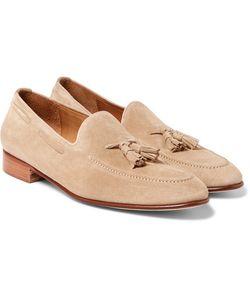 Ralph Lauren Purple | Label Chessington Suede Tasselled Loafers
