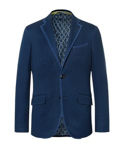 Etro | Slim-Fit Textured-Cotton Blazer