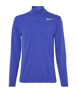 Nike Golf | Mesh-Panelled Knitted Dri-Fit Half-Zip Top
