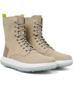 Under Armour Sportswear | Rlt Summer Leather-Trimmed Suede Boots